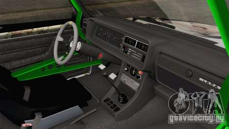 ВАЗ 2107 БК для GTA San Andreas вид справа