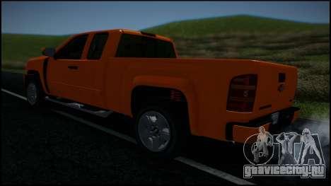 Chevrolet Silverado 1500 HD Stock для GTA San Andreas колёса