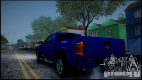 Chevrolet Silverado 1500 HD Stock для GTA San Andreas вид снизу