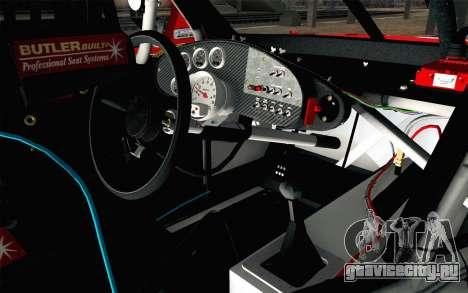 NASCAR Chevrolet Impala 2012 Short Track для GTA San Andreas вид справа