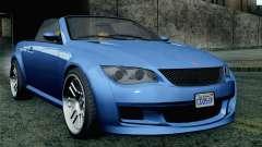 GTA 5 Ubermacht Sentinel Coupe SA Mobile для GTA San Andreas