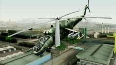 Mi-24D Polish Air Force для GTA San Andreas