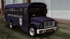 GTA 4 TLaD Prison Bus