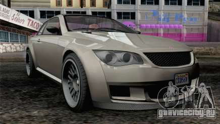 GTA 5 Ubermacht Sentinel XS IVF для GTA San Andreas