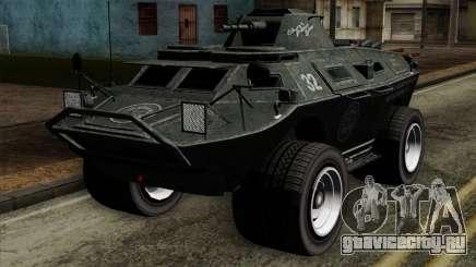 GTA 4 TBoGT Swatvan v2 для GTA San Andreas