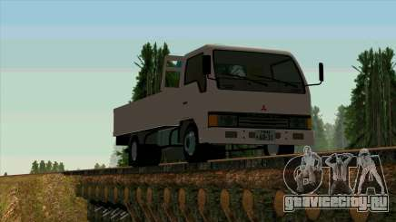 Mitsubishi Fuso Canter 1989 With Crane для GTA San Andreas