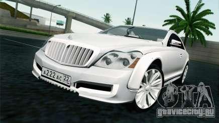 Maybach 57S Coupe Xenatec для GTA San Andreas