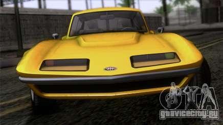 GTA 5 Invetero Coquette Classic HT IVF для GTA San Andreas