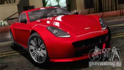 GTA 5 Dewbauchee Exemplar SA Mobile для GTA San Andreas