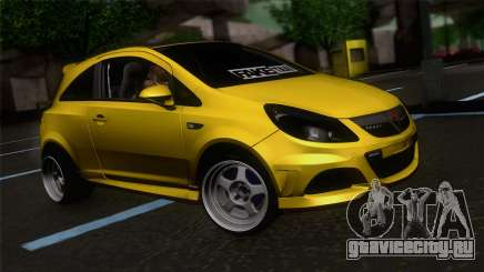Opel Corsa OPC для GTA San Andreas