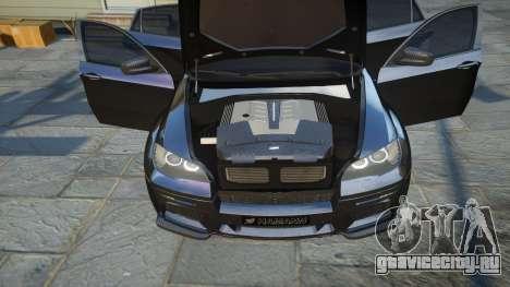 HAMANN BMW X6 2011 Tycoon EVO M v1.0 TSE для GTA 4 вид сбоку