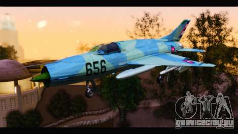 MIG-21MF Cuban Revolutionary Air Force для GTA San Andreas