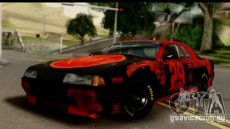 Elegy NASCAR для GTA San Andreas вид слева