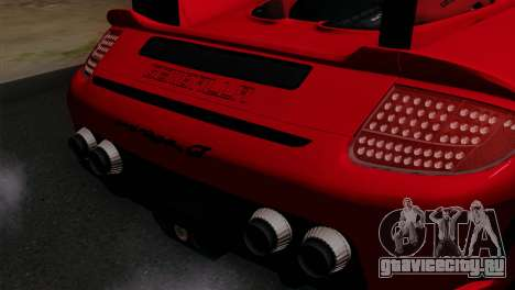 Gemballa Mirage GT v3 Windows Up для GTA San Andreas