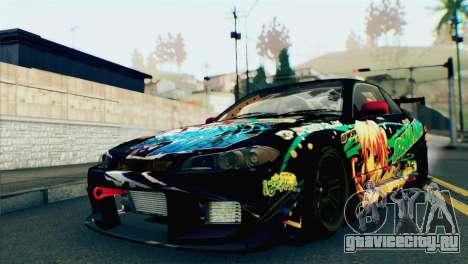 Nissan Silvia S15 Itasha для GTA San Andreas