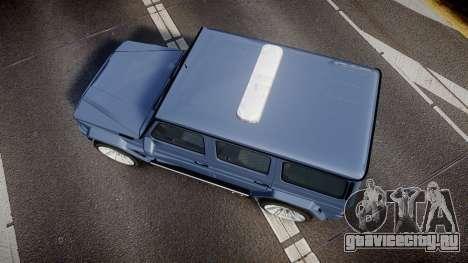 Mercedes-Benz B65 Brabus [ELS] для GTA 4 вид справа
