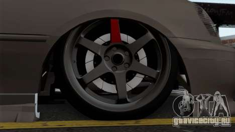 Toyota Crown для GTA San Andreas вид сзади слева