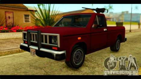 Bobcat Technical Pickup для GTA San Andreas