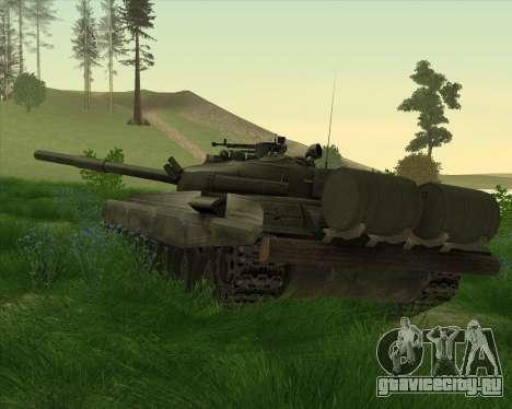 Т-72 для GTA San Andreas вид сзади слева