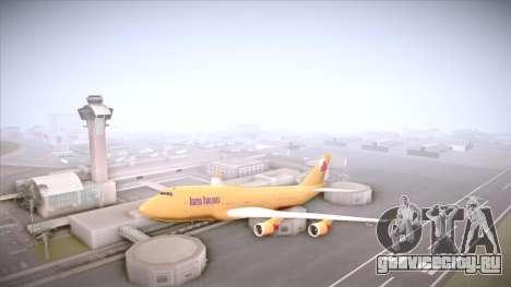 GTA V 747 Adios Airlines для GTA San Andreas вид слева
