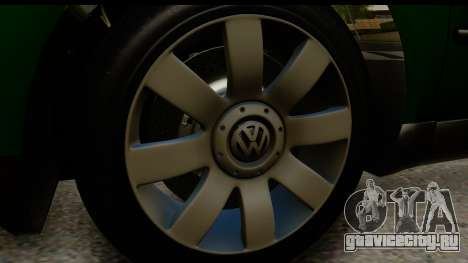 Volkswagen Passat B5 для GTA San Andreas вид сзади
