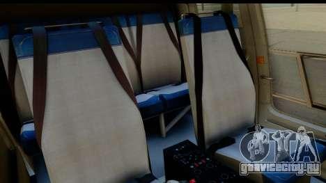 MBB Bo-105 Argentine Police для GTA San Andreas вид изнутри