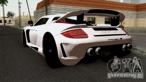 Gemballa Mirage GT v2 Windows Up для GTA San Andreas вид слева