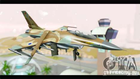 F-16A Netz для GTA San Andreas