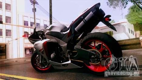 Yamaha YZF-R1 для GTA San Andreas вид слева