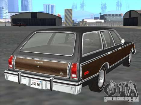 Plymouth Volare Wagon 1976 wood для GTA San Andreas вид справа