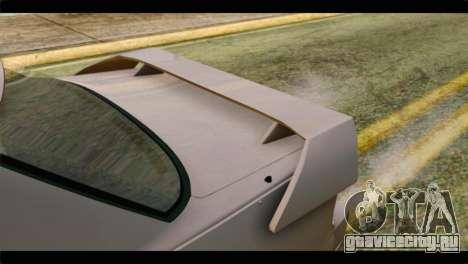 Nissan Silvia для GTA San Andreas вид сзади