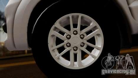 Toyota Hilux SW4 2014 Forca Tatica для GTA San Andreas вид справа