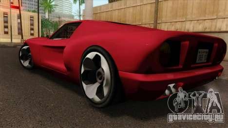 Bullet PFR v1.0 для GTA San Andreas вид слева