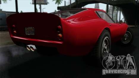 GTA 5 Grotti Stinger GT v2 IVF для GTA San Andreas вид слева