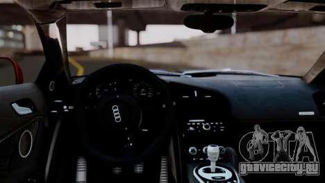 Audi R8 V10 v1.0 для GTA San Andreas вид справа