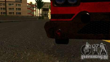 GTA 5 Declasse Tornado Worn IVF для GTA San Andreas вид сзади