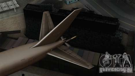 Boeing KC-767 Japan Air Self-Defense Force для GTA San Andreas вид сзади слева