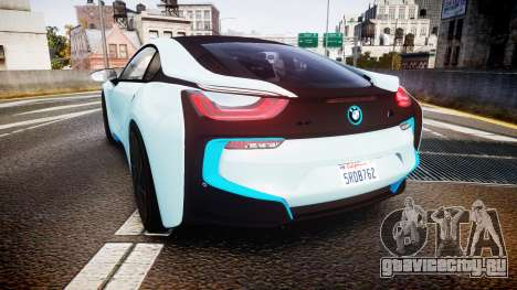 BMW i8 2013 для GTA 4 вид сзади слева