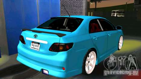 Toyota Corolla Altis для GTA San Andreas