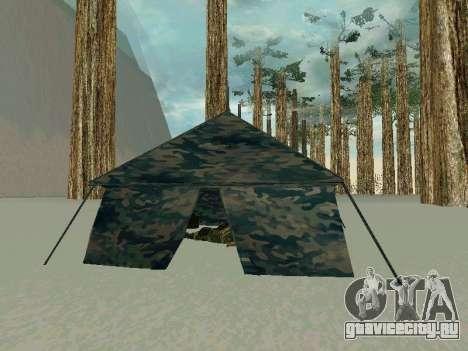 Палатка для GTA San Andreas второй скриншот