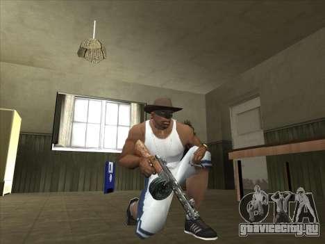 Отличные русские автоматы для GTA San Andreas седьмой скриншот