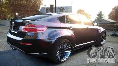 HAMANN BMW X6 2011 Tycoon EVO M v1.0 TSE для GTA 4 вид сзади