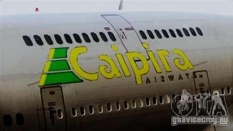 GTA 5 Caipira Airways для GTA San Andreas вид сзади