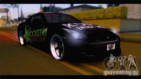Nissan Skyline GTR Rockstar Energy для GTA San Andreas
