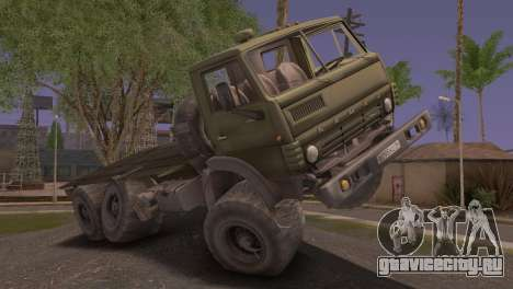 КамАЗ 43101 для GTA San Andreas вид слева