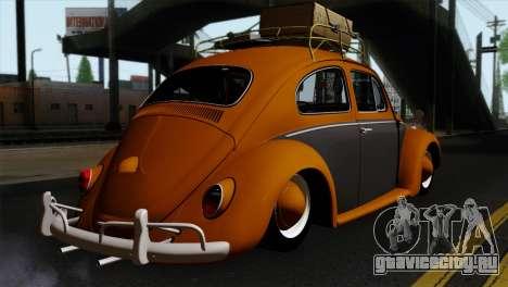 Volkswagen Beetle 1969 для GTA San Andreas вид слева