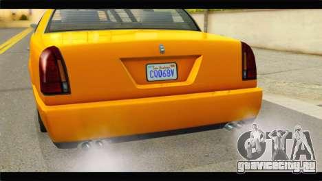 GTA 5 Dundreary Stretch для GTA San Andreas вид справа