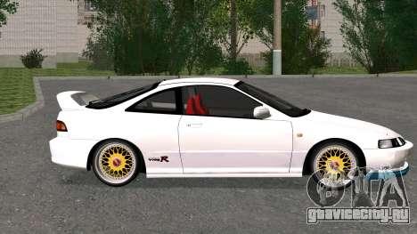 Honda Integra Type R 2000 для GTA San Andreas вид слева