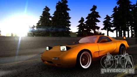 ZR-350 by Verone v.1 для GTA San Andreas вид слева