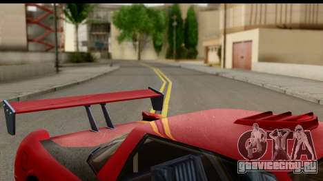 Tuned Infernus для GTA San Andreas вид сзади слева